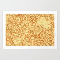 #MoleskineDaily_18 Art Print