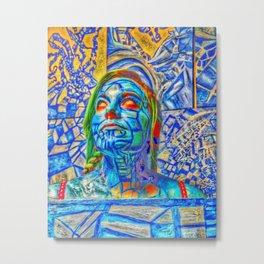 Blue Dreamer Metal Print
