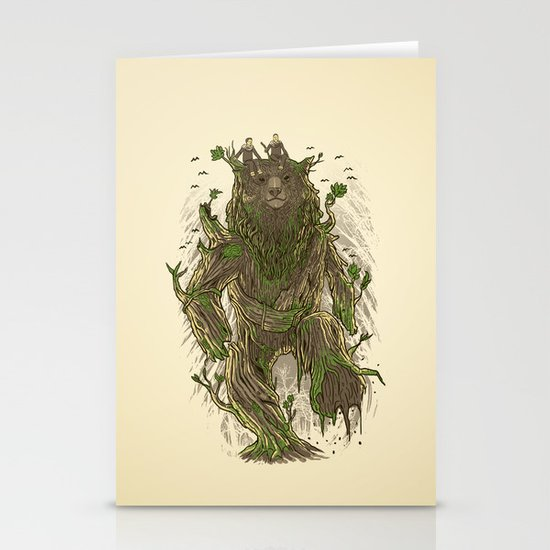 Treebear Stationery Cards