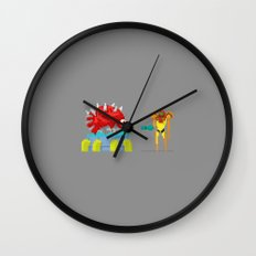 Mother Hunter Wall Clock