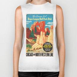 Vintage poster - Bryce Canyon Biker Tank