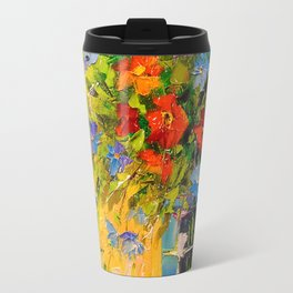 Bouquet of meadow flowers Travel Mug
