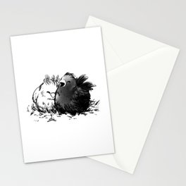 Chocobo Black Chick Stationery Cards