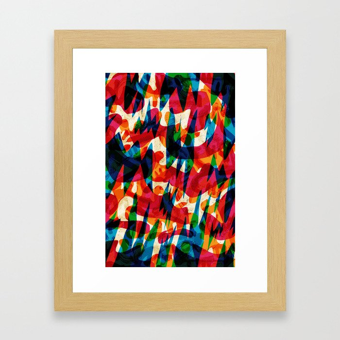 Pattern № 29 Framed Art Print