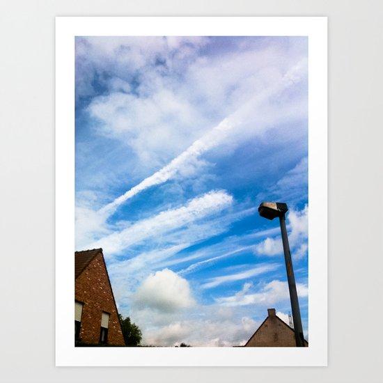 Sky III Art Print