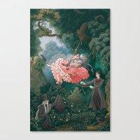 kuroshitsuji Canvas Prints featuring Happy Accidents of Kuroshitsuji by Missy Pena
