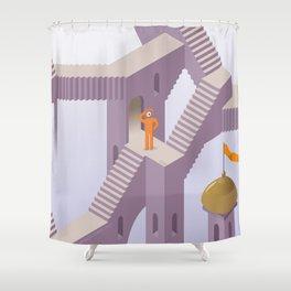 eyescher Shower Curtain