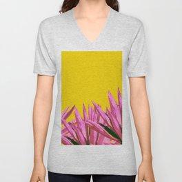 Pop art agave Unisex V-Neck