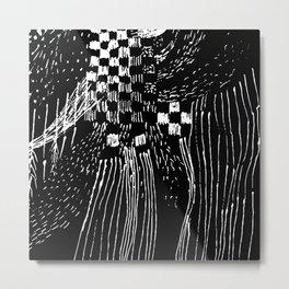 square rain Metal Print