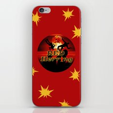 Red Herring - The Spies Who Loved Me Not iPhone & iPod Skin