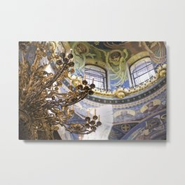 The Church of the savior on the spilled blood Metal Print