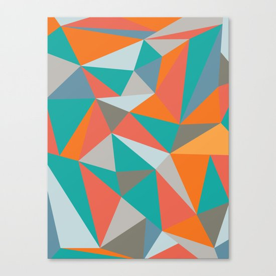 Summer Deconstructed Canvas Print