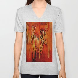 Wind In Your Hair Unisex V-Neck