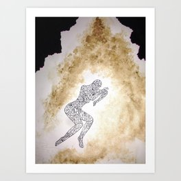 The Cave of Reveries Art Print