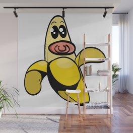 Baby Banana Wall Mural