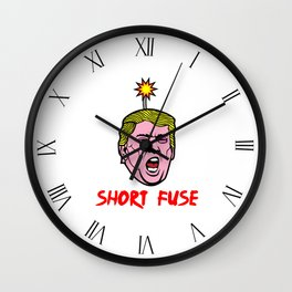 Short Fuse Wall Clock