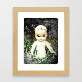 Plastic Girl Framed Art Print