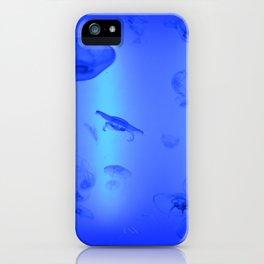 blue medusa iPhone Case
