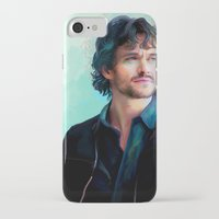 will graham iPhone & iPod Cases featuring Will Graham by The Wayward Daughter