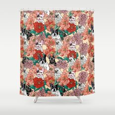 French Bullbloom Shower Curtain
