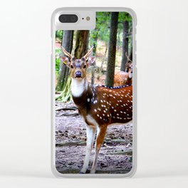 Axis Deer Clear iPhone Case