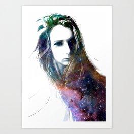 hairy stars Art Print