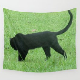 Prowling Around Wall Tapestry
