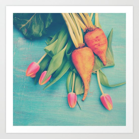 The Beet Goes On Art Print