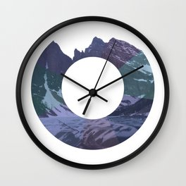 Mountaineer Wall Clock