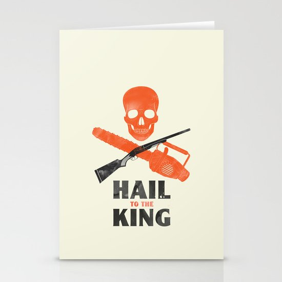 Hail to the King! Stationery Cards