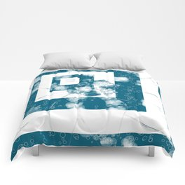 Circles and Squares Comforters