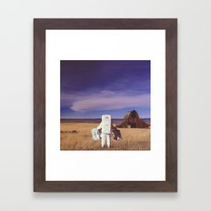 Visitor Framed Art Print
