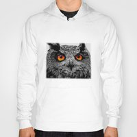 anaconda Hoodies featuring YOU'RE THE ORANGE OF MY EYES by Catspaws