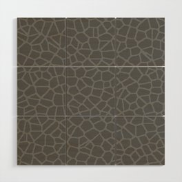 Staklo (Gray on Gray) Wood Wall Art