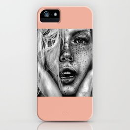 + FRECKLES + iPhone Case
