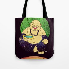 total peace buddha Tote Bag