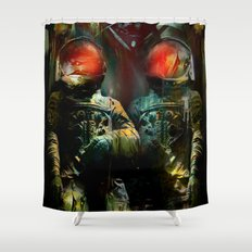 The guardians of the galaxy GN-z11 Shower Curtain