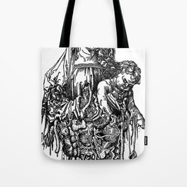 Santa De Carne Tote Bag