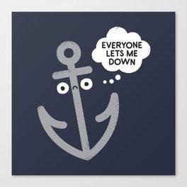 That Sinking Feeling Canvas Print