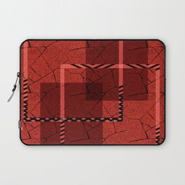Abstract grunge background. Laptop Sleeve