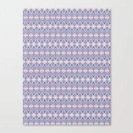 Diamond Tesselation Pattern Canvas Print