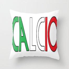 Calcio Throw Pillow