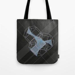 trple per mnml srf_001 Tote Bag