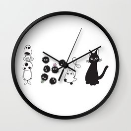 MIYAZAKI FRIENDS Wall Clock