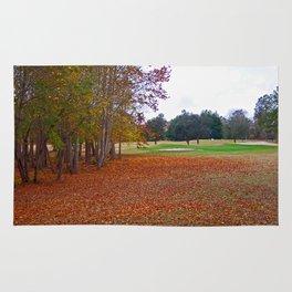 15th Hole in Autumn Rug
