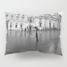Purple and Blue in Rome Pillow Sham