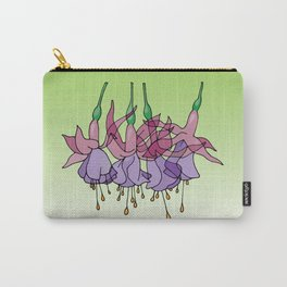 Purple Fuchsias Carry-All Pouch
