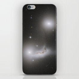 Colliding Galaxies iPhone Skin