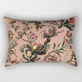 Exotic Brazilian Flowers Rectangular Pillow