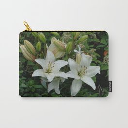 Blooming Lilies Carry-All Pouch